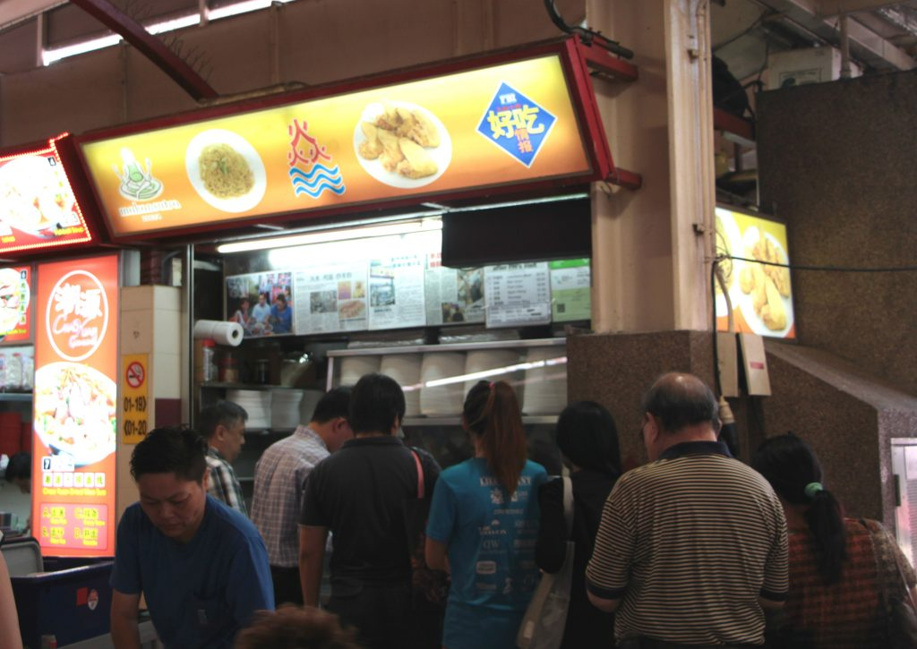 There is a queue at all times of the day for Yan Fried Beehoon