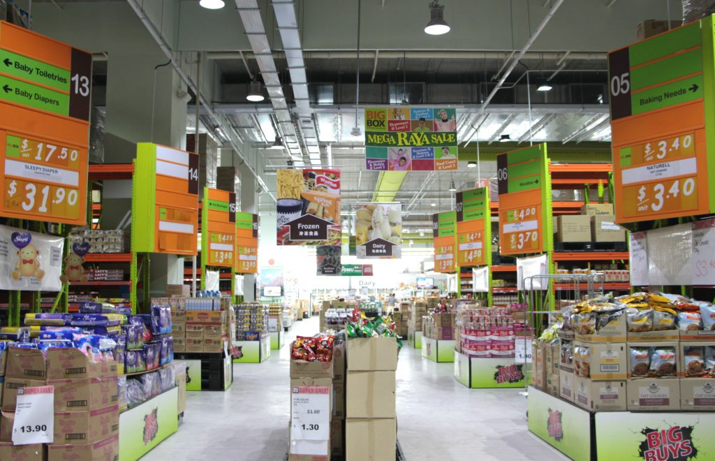 Big Box's hypermart is in a class of its own